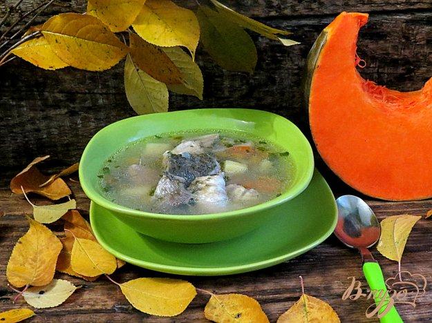 фото рецепта: Рыбный суп с тыквой