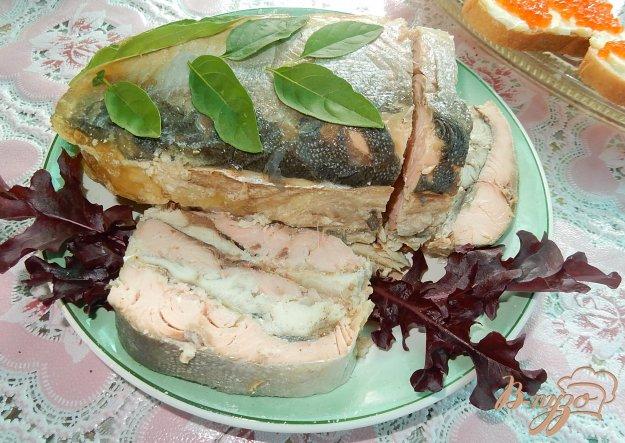 фото рецепта: Горбуша и скумбрия запеченные с желатином