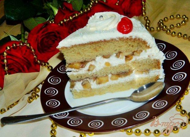 Торт с бананами рецепт пошагово с в