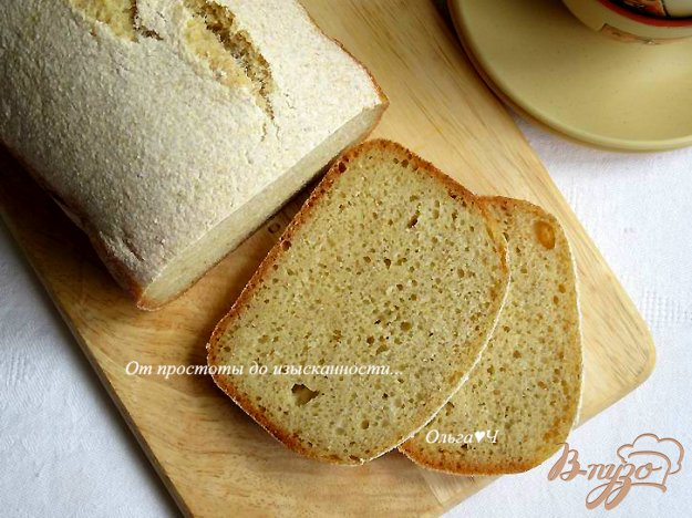 Хлеба на кукурузной муке в хлебопечке