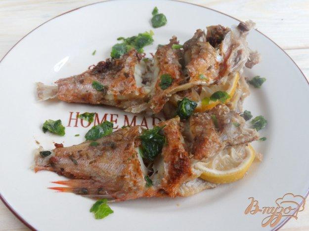 фото рецепта: Пряный морской окунь с паприкой