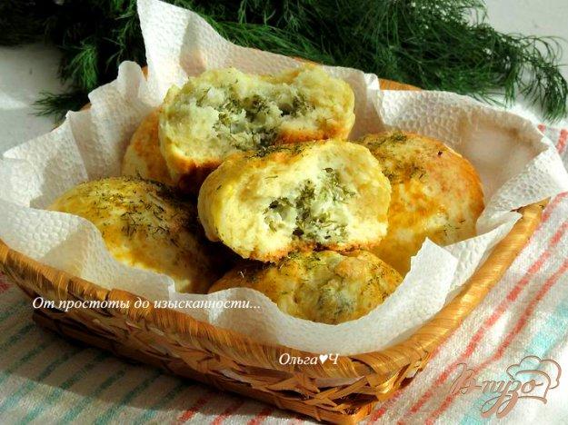 фото рецепта: Погача с сыром и укропом