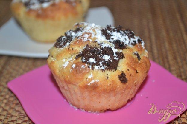 фото рецепта: Маффины с шоколадными каплями