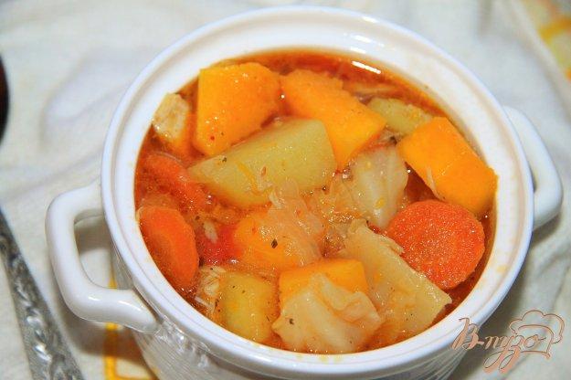 фото рецепта: Овощное рагу с тыквой