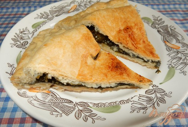 фото рецепта: Пирог с щавелем