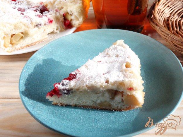 фото рецепта: Клюквенно-яблочный пирог