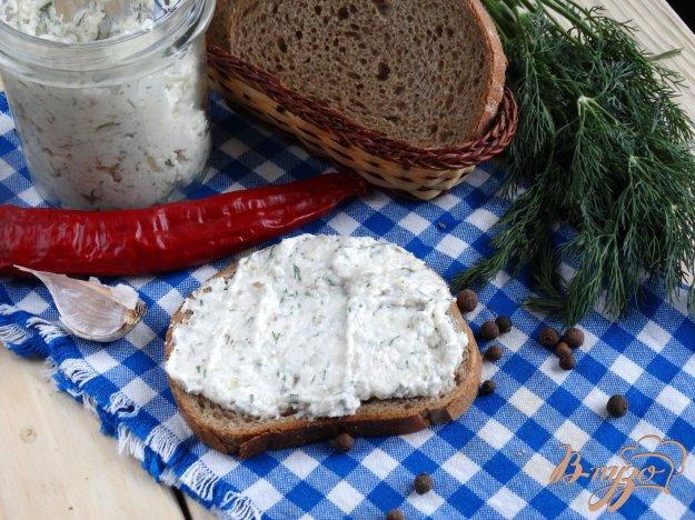 фото рецепта: Намазка из сала с чесноком
