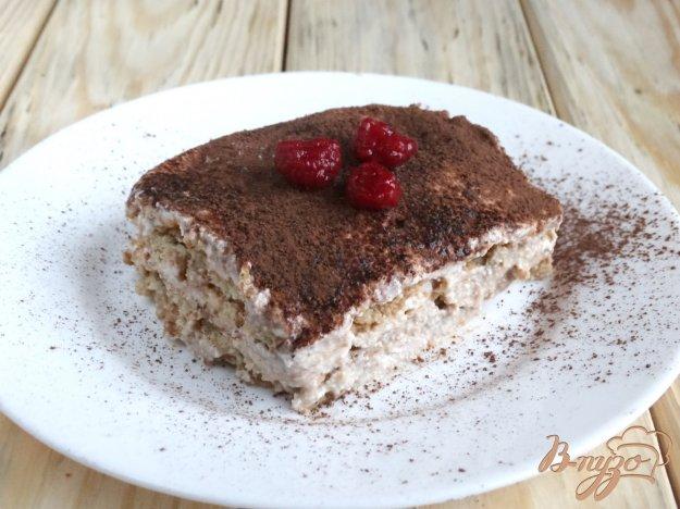 фото рецепта: Десерт аля Малиновый тирамису