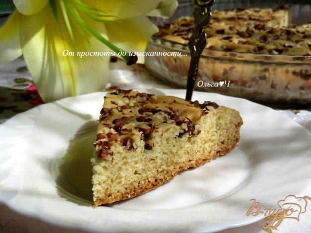 фото рецепта: Постная коврижка с орехами