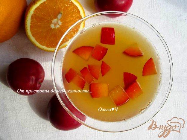 фото рецепта: Цитрусовый щербет с мятным сиропом
