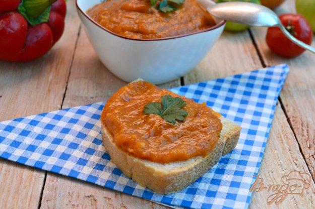фото рецепта: Овощная икра с зелеными помидорами в мультиварке
