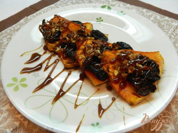 фото рецепта: Запеченная тыква с карамелью
