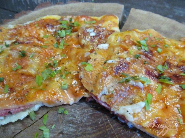 Закрытая пицца с сыром рецепт с фото