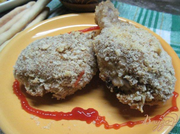 рецепт куриных ножек в панировочных сухарях в духовке
