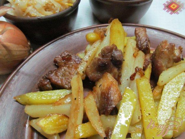 фото рецепта: Свинина с картофелем