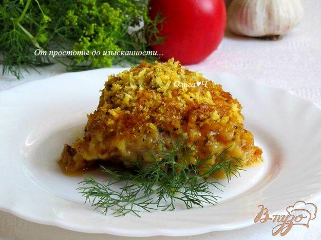 фото рецепта: Курица с сыром и орегано