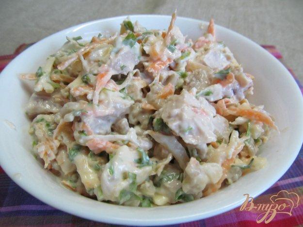 рецепты салатов с куриной грудкой и картофелем