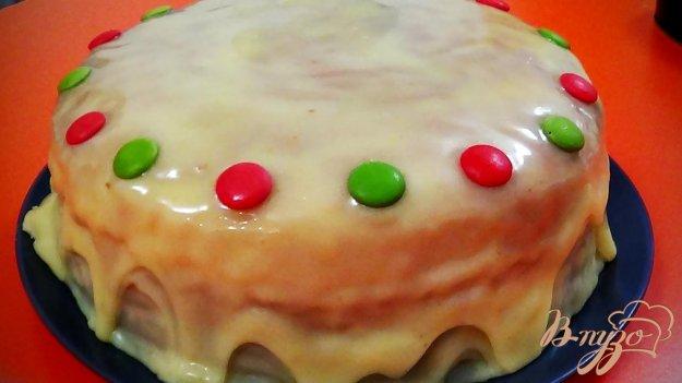 фото рецепта: Белая глазурь для тортов и печенья