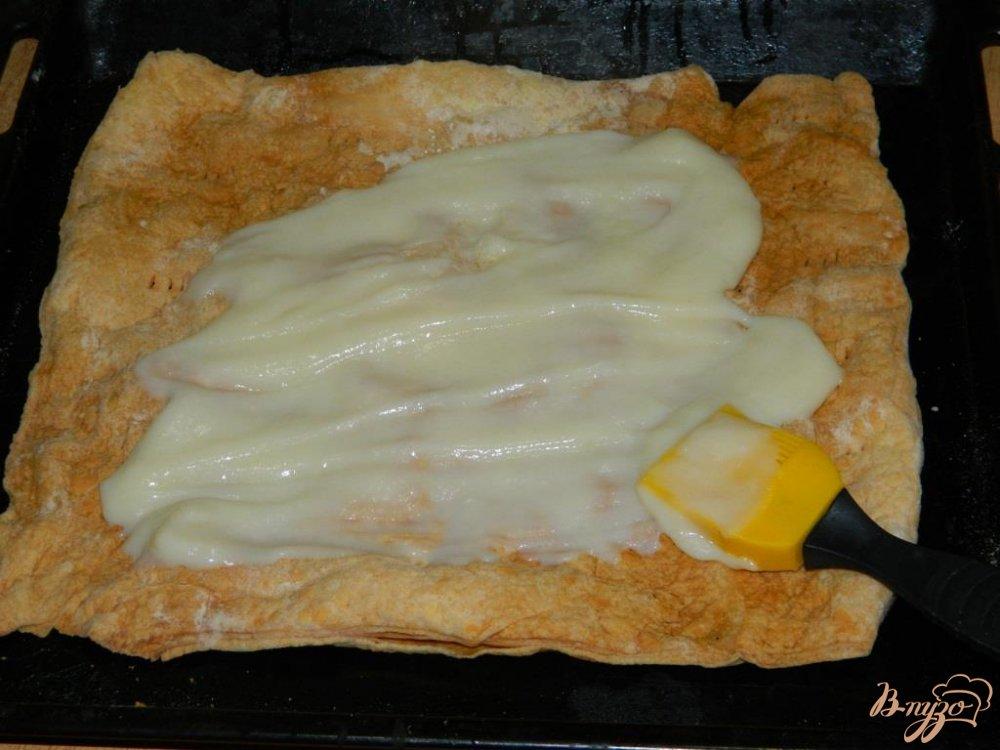 Наполеон слоеного теста торт рецепт с пошаговым