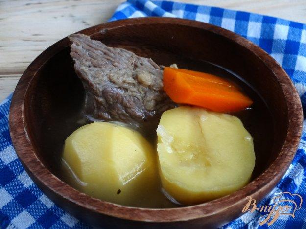 фото рецепта: Шурпа с говядиной в мультиварке