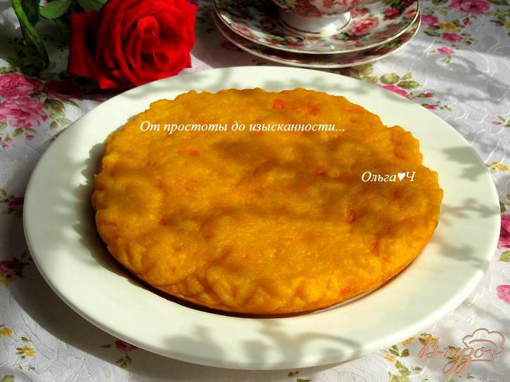 Пирог из морковного жмыха рецепт с фото