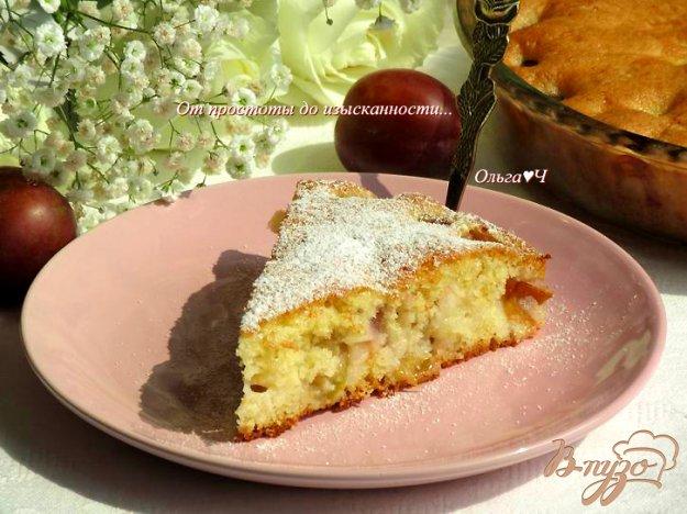 фото рецепта: Пирог со сливами