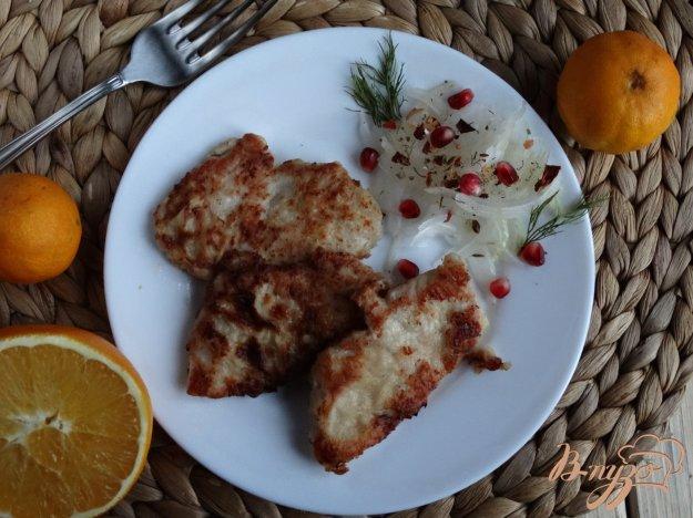 фото рецепта: Отбивные из индейки в апельсиново-горчичном маринаде