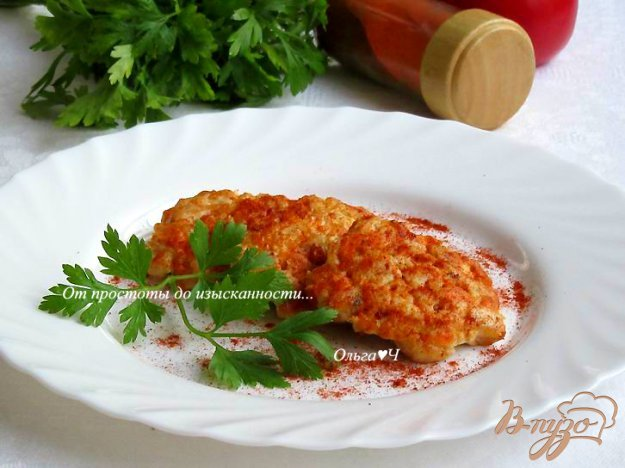 фото рецепта: Рубленные котлеты с морковью и паприкой