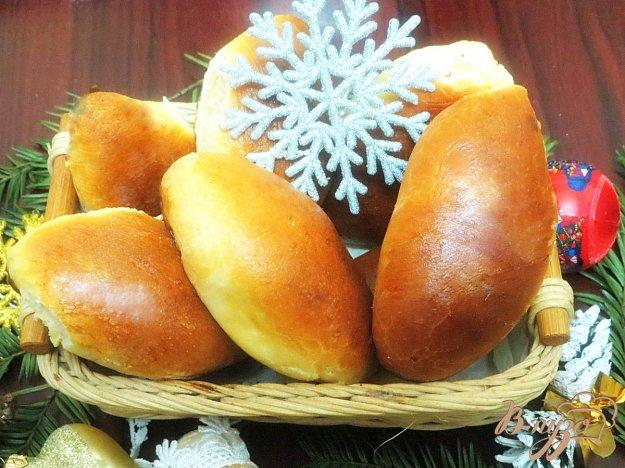 фото рецепта: Пирожки из дрожжевого теста на растительном масле