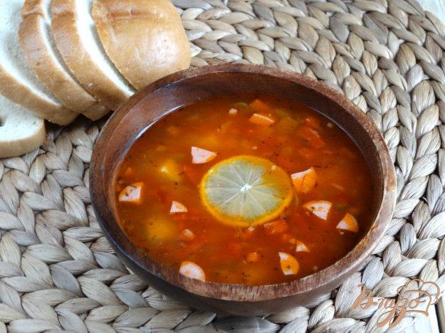фото рецепта: Солянка с колбасами