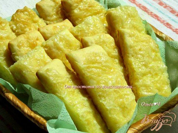 фото рецепта: Соленое творожное печенье с сыром