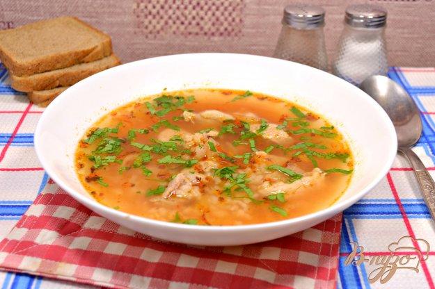 Суп рисовый со свининой пошаговый рецепт с фото