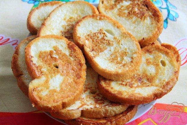 фото рецепта: Сладкие гренки к завтраку
