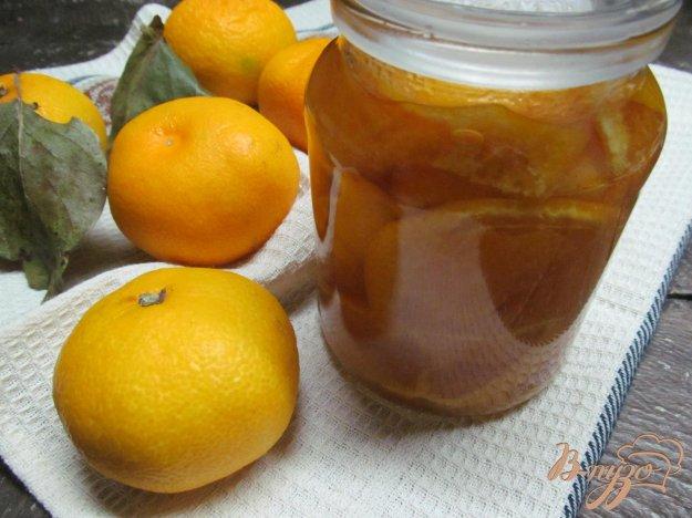 фото рецепта: Мандариновое варенье с кожурой
