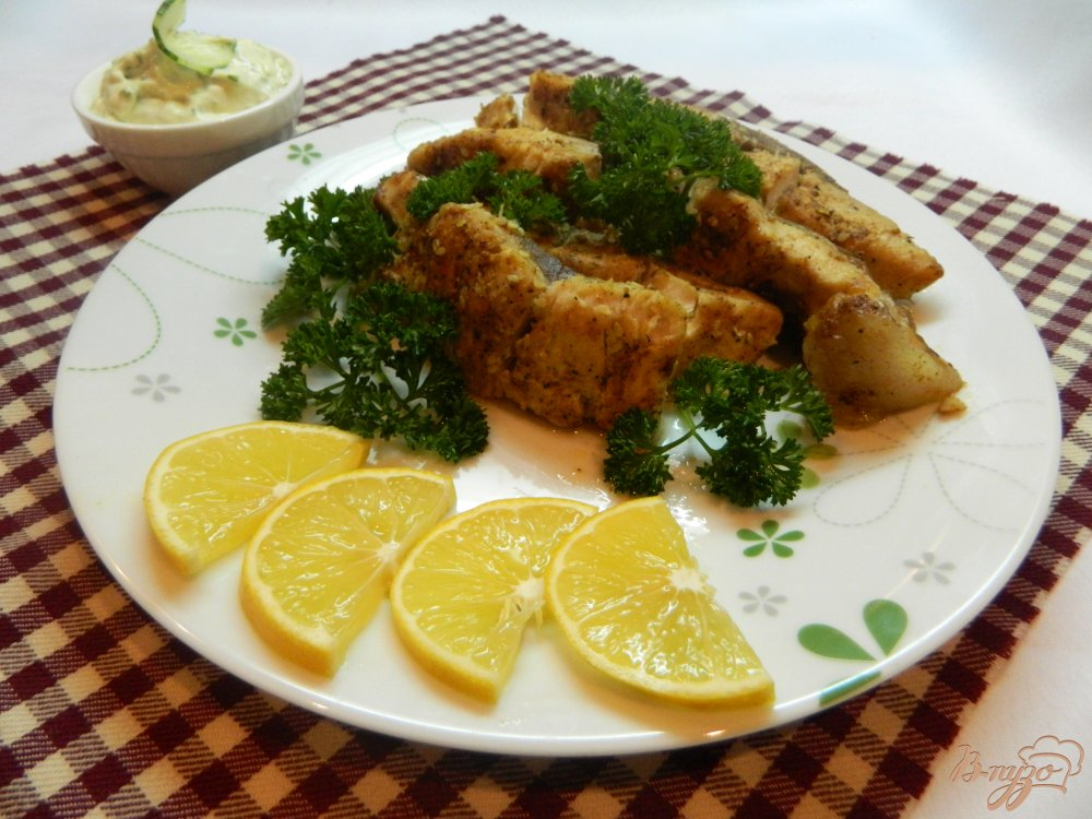 приготовление рыбы с соусом в духовке рецепты с фото