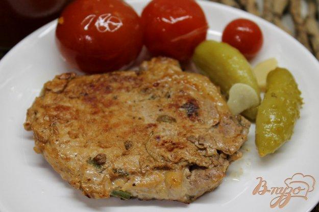 фото рецепта: Свинина маринованная в кефире и соевом соусе