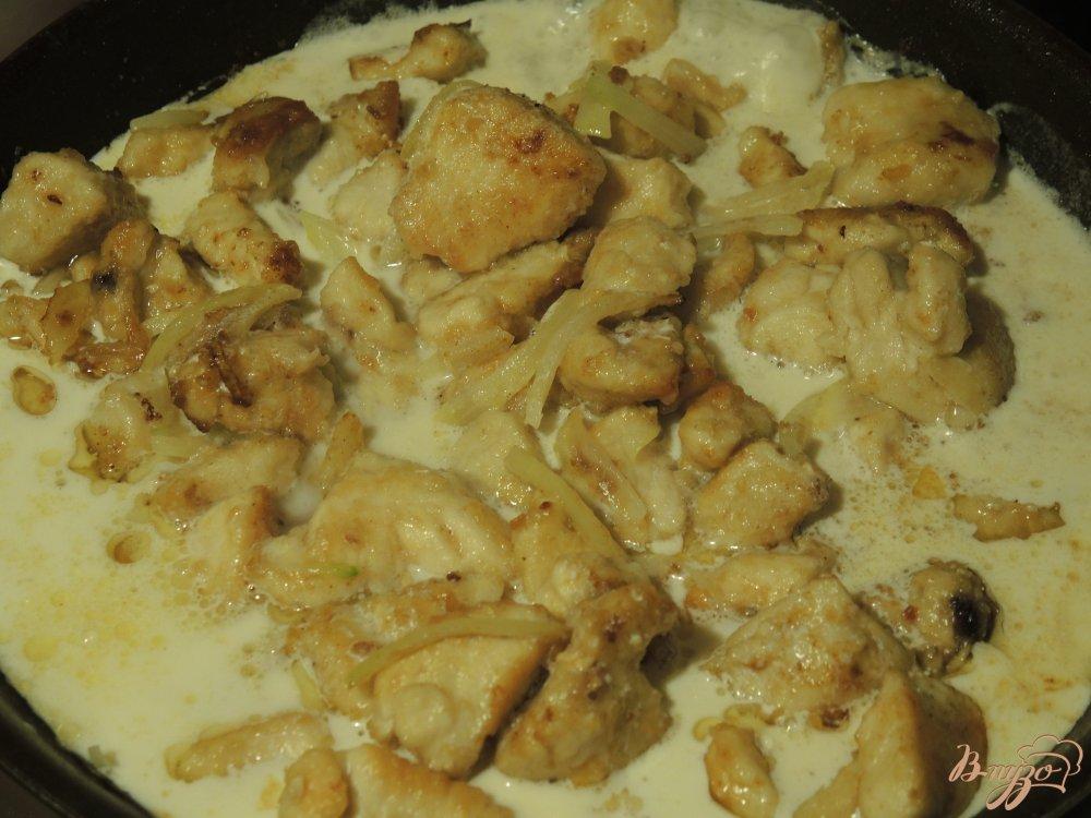 Фрикасе из курицы рецепт с пошаговым фото