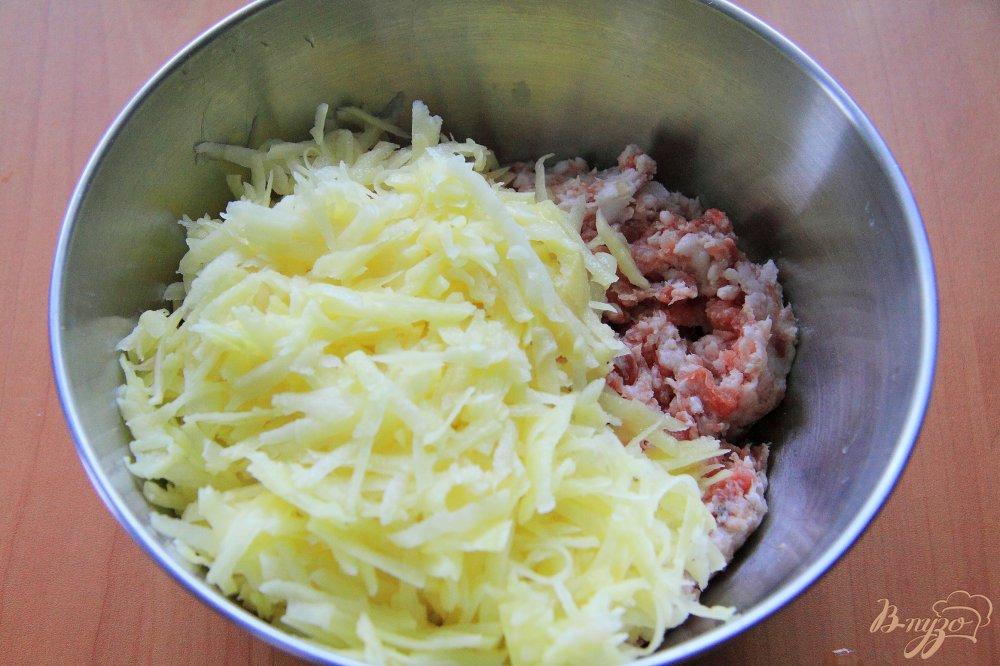 Приготовить ханум с фаршем и картошкой