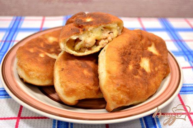 Пирожки из куриного фарша рецепт