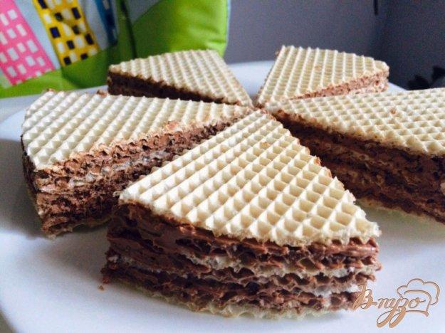 фото рецепта: Вафельные пирожные