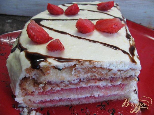 фото рецепта: Клубничный торт