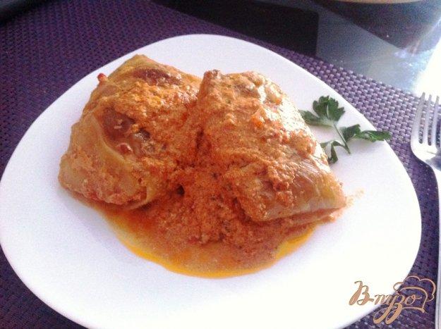 фото рецепта: Голубцы в томатном соусе