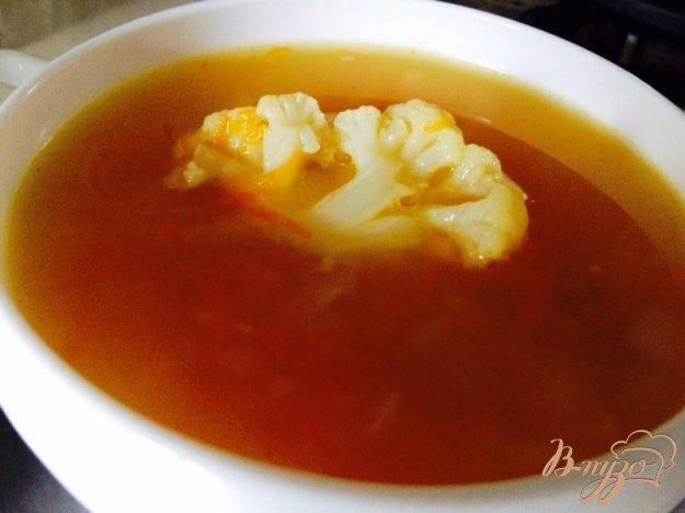фото рецепта: Суп из кролика и цветной капусты для деток