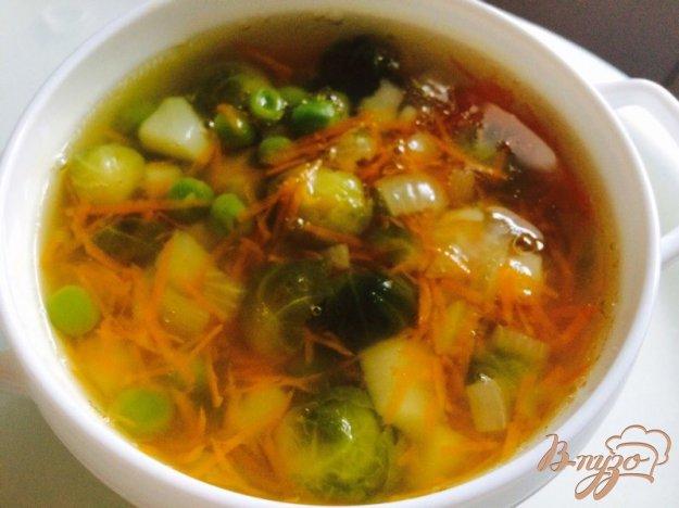 фото рецепта: Овощной суп из телятины с вермишелью для деток