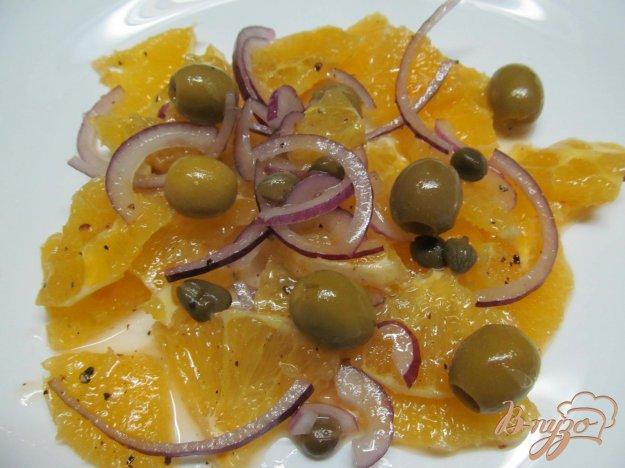 салаты из апельсинов рецепты с фото