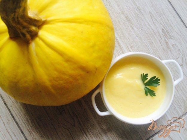 фото рецепта: Крем - суп из тыквы и сельдерея  для деток