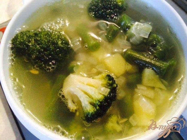 фото рецепта: Густой суп из говядины и брокколи для деток