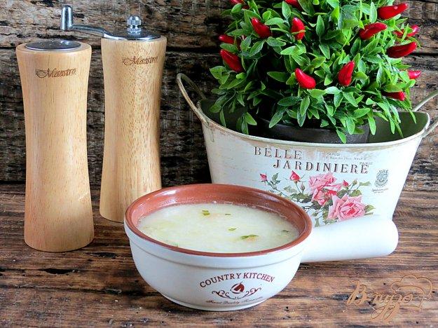 фото рецепта: Картофельный суп с плавлеными сырками