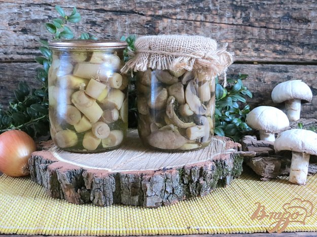 фото рецепта: Щампиньоны маринованные на зиму
