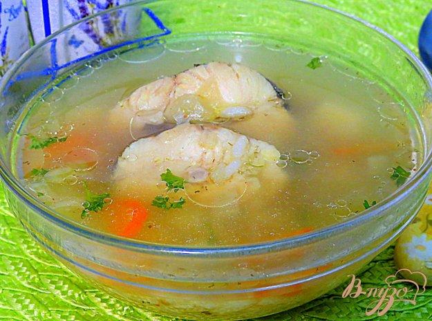 фото рецепта: Суп с хеком и рисом